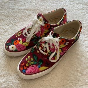 Keds Rifle Paper Co floral sneakers